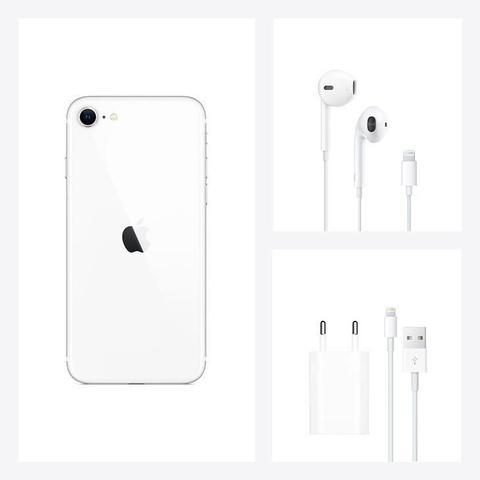 Imagem de iPhone SE Apple Branco, 128GB Desbloqueado - MXD12BZ/A