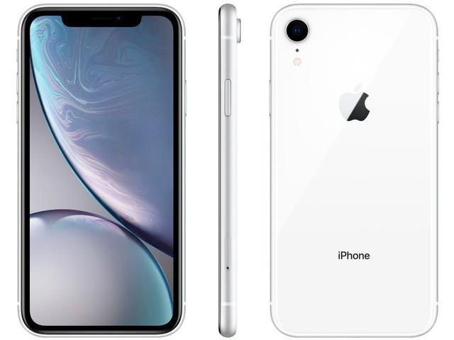 "Imagem de iPhone XR Apple 128GB Branco 4G Tela 6,1"" Retina"