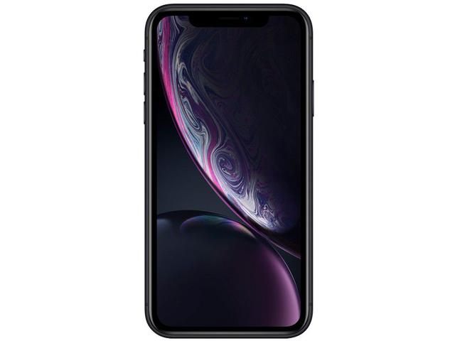 "Imagem de iPhone XR Apple 128GB Preto 4G Tela 6,1"" Retina"