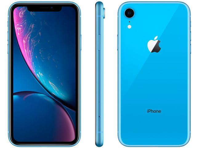 "Imagem de iPhone XR Apple 256GB Azul 6,1"" 12MP"