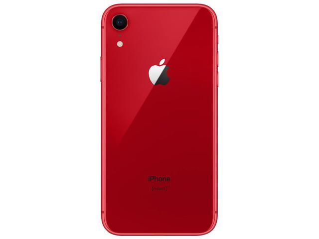 "Imagem de iPhone XR Apple 256GB Product Red 4G Tela 6,1"""