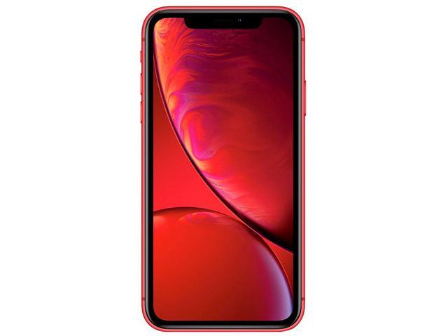 "Imagem de iPhone XR Apple 256GB (PRODUCT)RED 6,1"" 12MP"