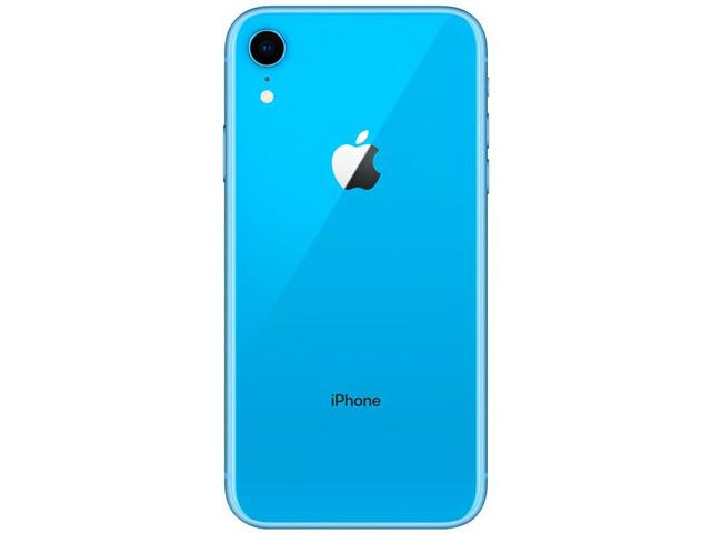 "Imagem de iPhone XR Apple 64GB Azul 4G Tela 6,1"" Retina"