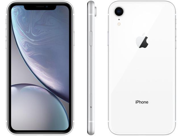 "Imagem de iPhone XR Apple 64GB Branco 6,1"" 12MP"