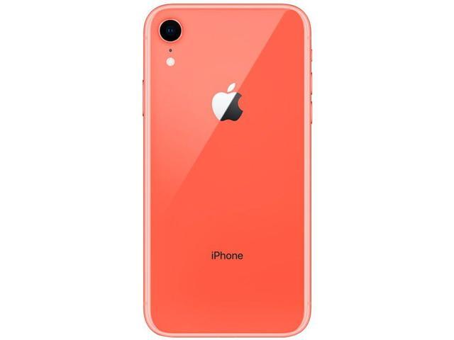 "Imagem de iPhone XR Apple 64GB Coral 4G Tela 6,1"" Retina"