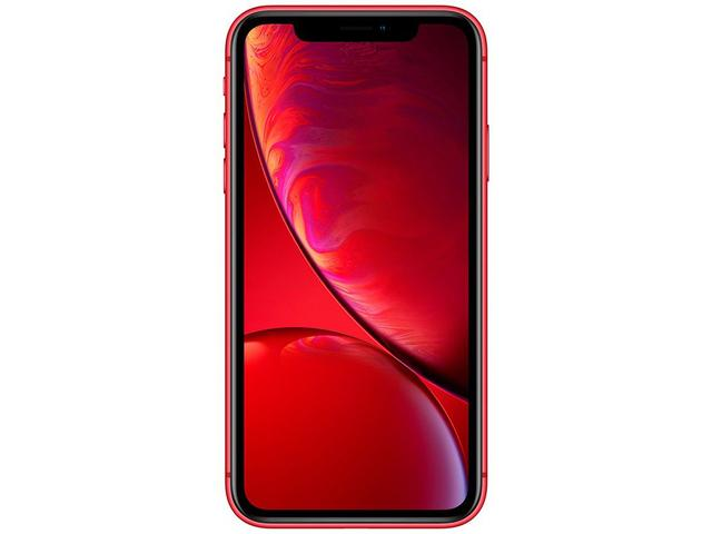 "Imagem de iPhone XR Apple 64GB (PRODUCT)RED 6,1"" 12MP iOS"