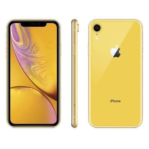 Imagem de iPhone XR Apple Amarelo, 256GB Desbloqueado - MRYN2BZ/A