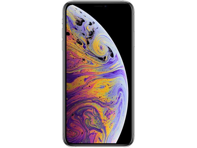 """Imagem de iPhone XS Max Apple 64GB Prata 4G Tela 6,5"""" Retina"""