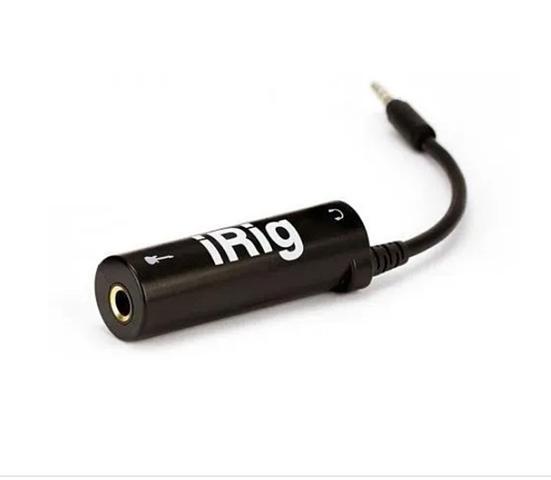 Imagem de iRig - Interface de áudio p/ Guitarra e Lives No Celular