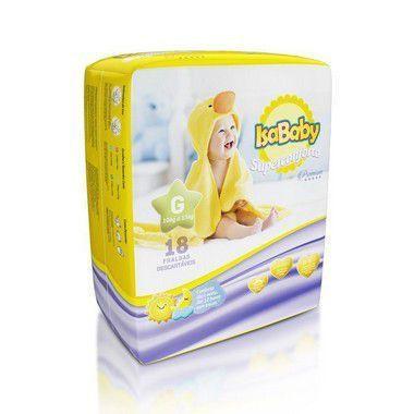 Imagem de Isababy Fralda Premium Jumbinho G 8 Pacotes Com 18 Unidades