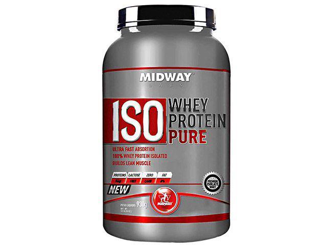 Imagem de Iso Whey Protein Pure Morango 930g