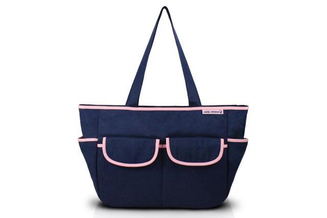 Imagem de Jacki Design Bolsa de Bebê Lisa Cor Azul e Pink