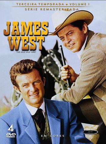 Imagem de James West - 3ª Temporada Volume 1