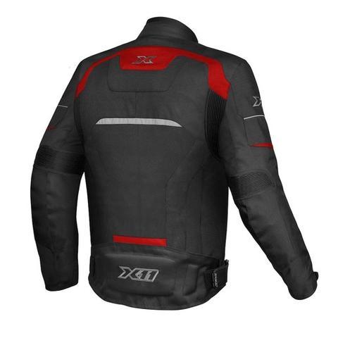 Imagem de Jaqueta one 2 nylon preto/vermelho (g) - x11