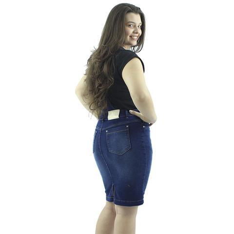 Imagem de Jardineira Evangélica Jeans Azul Destroyer Anagrom-REF 4004