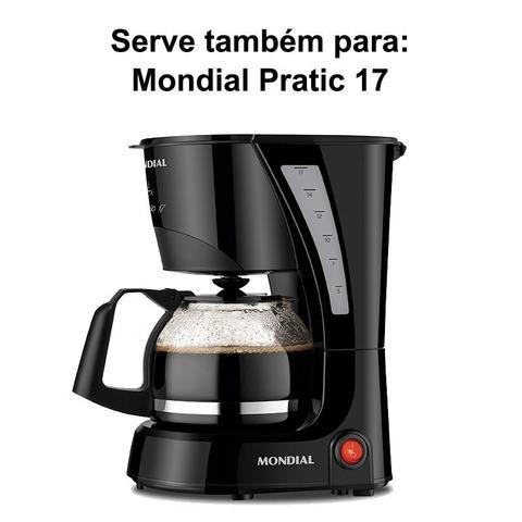 Imagem de Jarra Compatível para Cafeteira Philco Ph17 Modelo Baixo