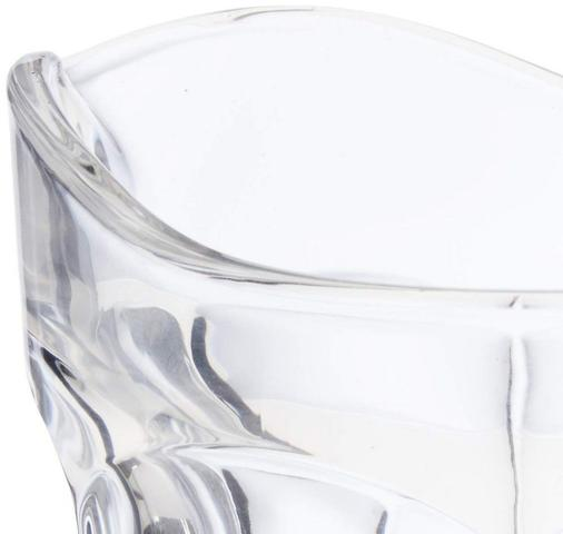 Imagem de Jarra de vidro sodo calcico faces 1,3lt lyor 7469