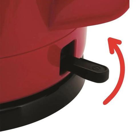 Imagem de Jarra Elétrica Arno Uno 1,5L Vermelha 110V KF06