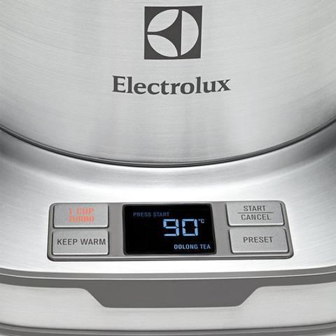 Imagem de Jarra Elétrica Expressionist Aço Inox EKP50 Electrolux 127V Cinza