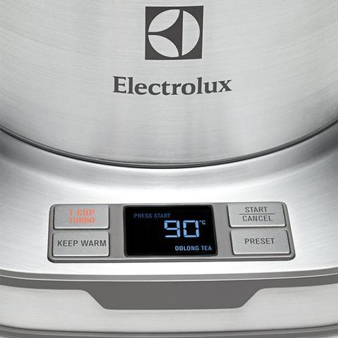 Imagem de Jarra Elétrica Expressionist Aço Inox EKP50 Electrolux 220V Cinza