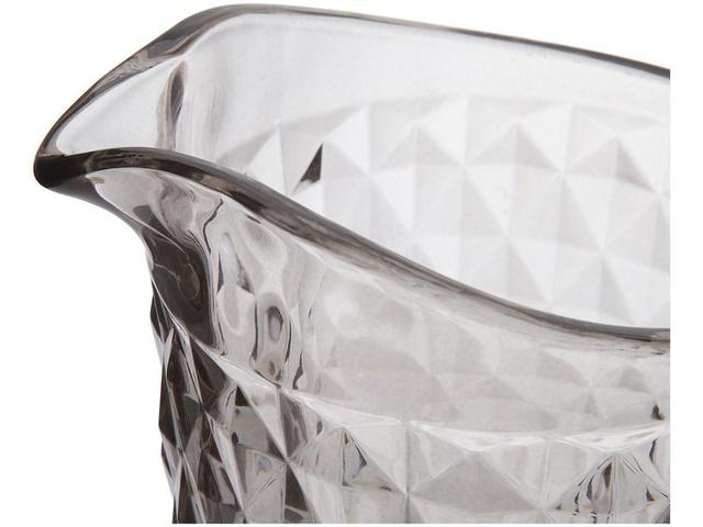 Imagem de Jarra em vidro 1,1L Bico de Abacaxi Fumê - Casambiente