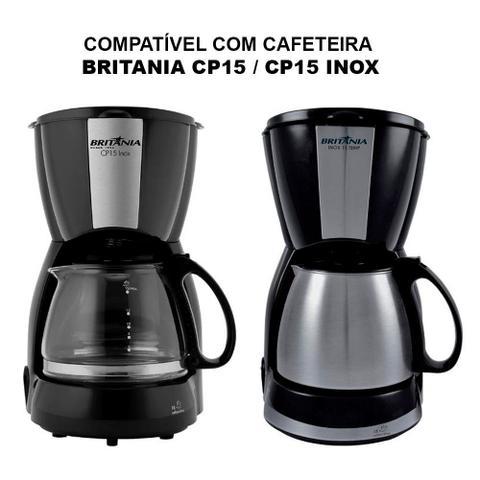 Imagem de Jarra Original Cafeteira Britania CP15 Inox