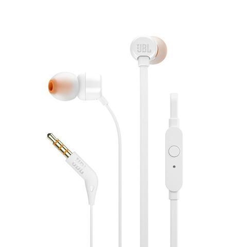 Imagem de JBL T110  Fone de Ouvido In-Ear Branco