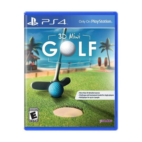 Jogo 3d Mini Golf - Playstation 4 - Pqube