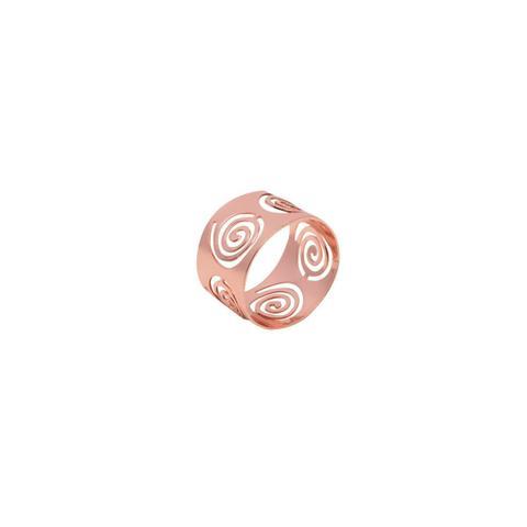 Imagem de Jogo 4 anéis para guardanapo de aço inox rosé gold Circles Prestige - 26511