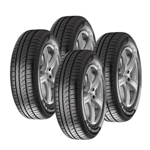 Imagem de Jogo 4 Pneus Aro 16 Pirelli P1 Cinturato 195/55R16 87V