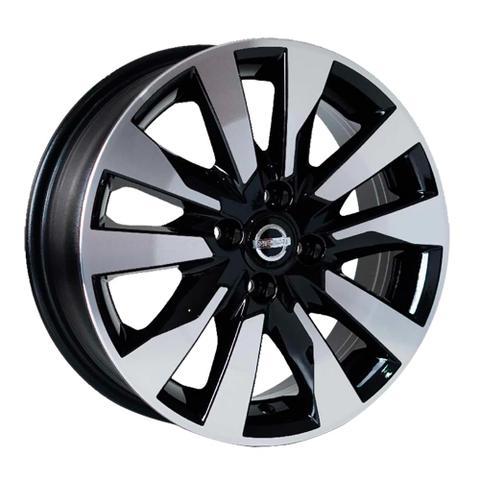 Imagem de Jogo 4 rodas Nissan Kicks Aro 16x6 4x100 Preto Diamante