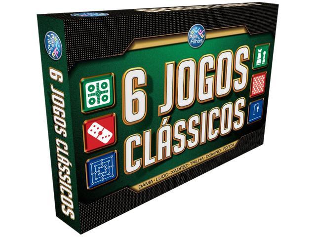 Imagem de Jogo 6 Jogos Clássicos Tabuleiro