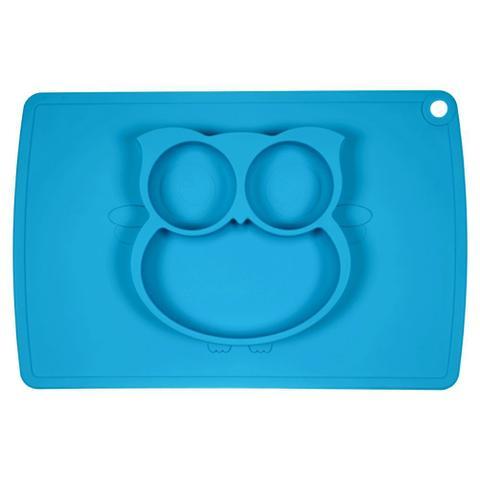Imagem de Jogo Americano com Pratinho de Coruja Azul - Winly