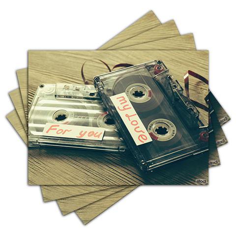 Imagem de Jogo Americano - Fitas com 4 peças - 765Jo