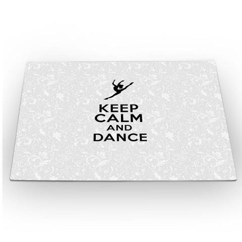 Imagem de Jogo Americano Keep Calm and Dance 46x33cm