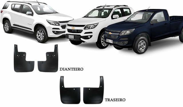 Imagem de Jogo Apara Barro Protetor Lameira Flap  S10 e Trailblazer