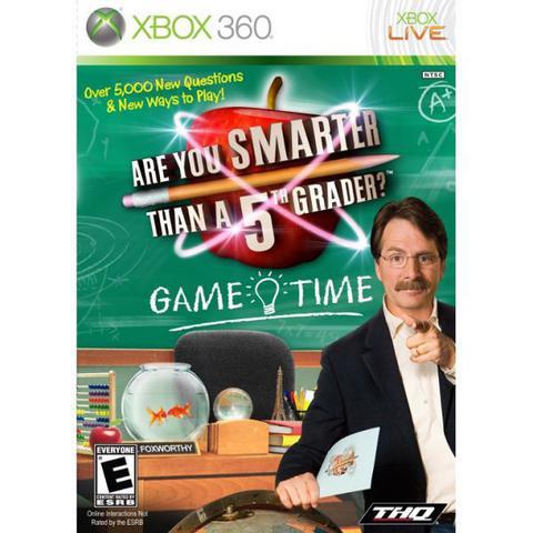 Imagem de Jogo Are You Smarter Than a 5th Grader Game Time - Xbox 360