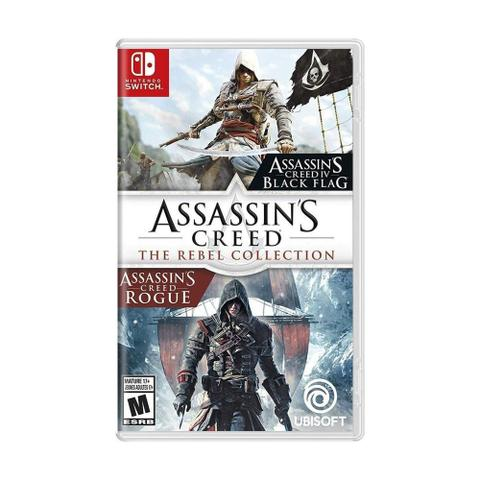 Jogo Assassin's Creed Rebel Collection - Switch - Ubisoft