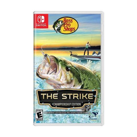 Jogo Bass Pro Shops The Strike Championship Edition Bundle - Switch - Ion