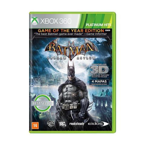 Imagem de Jogo Batman: Arkham Asylum (GOTY) - Xbox 360