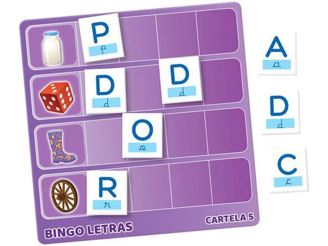 Imagem de Jogo Bingo Letras