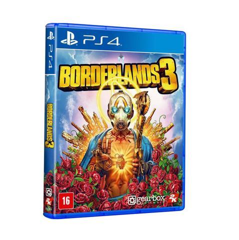Jogo Borderlands 3 - Playstation 4 - 2k Games