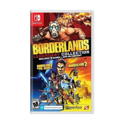 Jogo Borderlands Legendary Collection - Switch - 2k Games