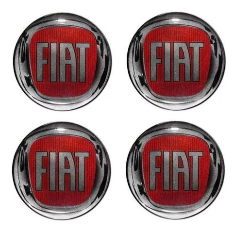 Imagem de Jogo Calota Aro 14 Fiat Palio Siena 2009 2010 Grid Prata + Emblema Resinado + Tampa Ventil