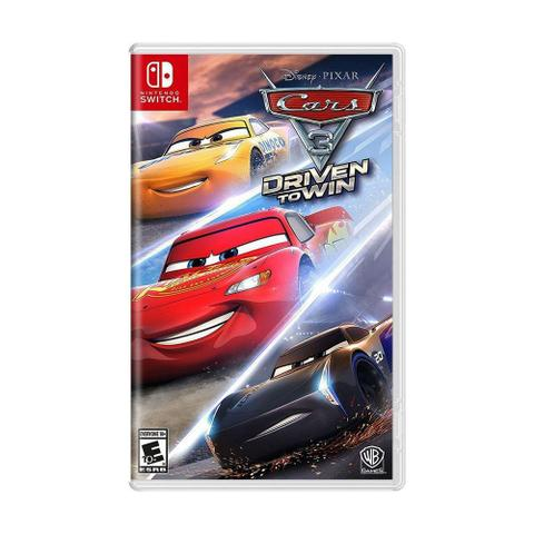 Jogo Cars 3 Driven To Win - Switch - Warner Bros Interactive Entertainment