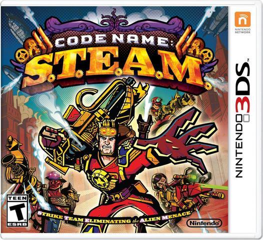 Jogo Codename S.t.e.a.m - 3ds - Nintendo
