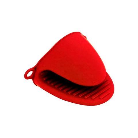 Imagem de Jogo Com 2 Pegadores De Panela Quente Em Silicone Vermelho
