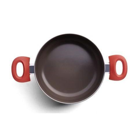 Imagem de Jogo Com Fundo De Indução Ceramic Life Optima Vermelho 5 Peças