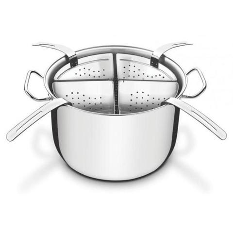 Imagem de Jogo cozi-pasta aço inox 30 cm - PROFESSIONAL - Tramontina