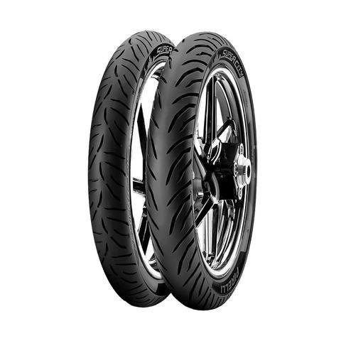 Imagem de Jogo de 2 Pneus de Moto Pirelli Super City 2.75-18 42P + 90/90-18 51P - CG / YBR / RD / Titan